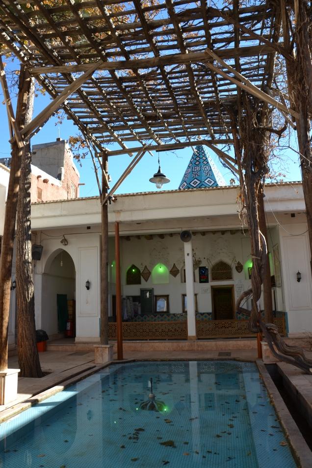 Le mausolée d'Abyaneh