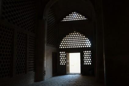 Porte de la salle de prière d'hiver