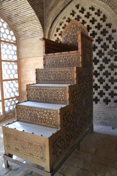 Minbar de la Mosquée Jameh