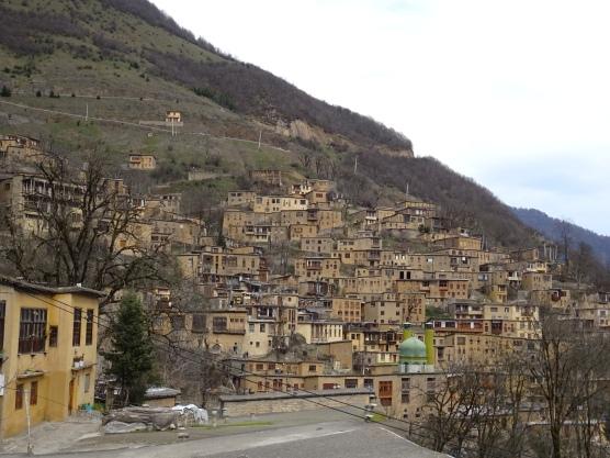 """Le village et ses différents """"étages"""""""