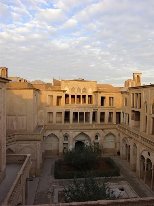 La cour principale