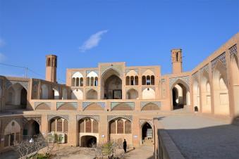 Cour intérieure et madrasseh