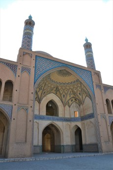 Iwan et minarets, la base...