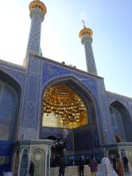 Les minarets sont aussi recouverts d'or